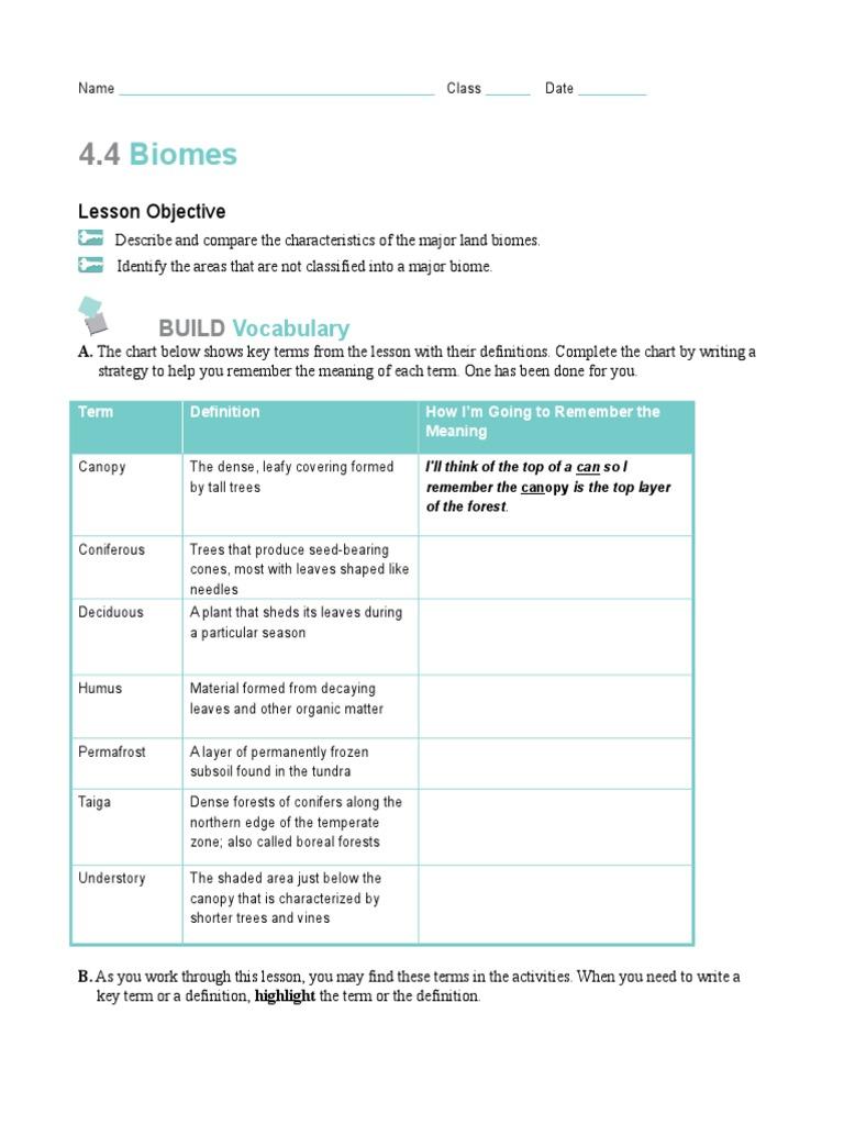 worksheet. Biomes Worksheet. Grass Fedjp Worksheet Study Site