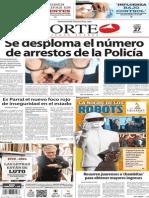Periódico Norte edición impresa día 27 de enero 2014
