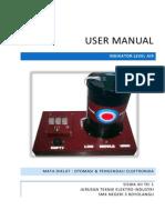 User Manual Indikator Level Air