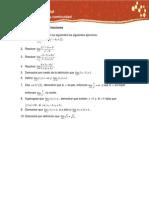 Act. 2. Límites de funciones