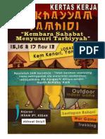 Kertas Kerja Mukhayyam 2013 Kedah
