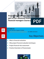 Project Financial Appraisal Techniquesv