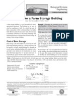 Planning for a Farm Storage Building