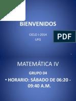 Bienvenidos Mat4