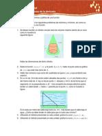 Act. 3. Máximos y mínimos y gráfica de una función