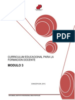 Modulo Curriculum