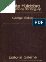 Yudice, George - Vicente Huidobro y La Motivacion Del Lenguaje