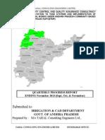 Tahal Qtr Report November Ending 2014(Unit I)