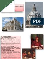 Tema 9 4 Arte Del Renacimiento El Cincuecento Curso 2012 13 Arquitectura