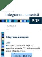 Numerical Integration Rom