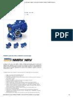 Riduttori Elicoidali_ Riduttori a Vite Senza Fine NMRV e NMRV POWER Motovario