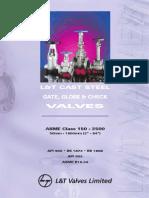 L&T GateGlobe&CheckValves-API 600