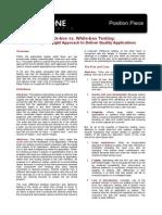 Plugin-BB vs WB Testing