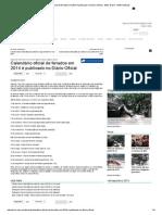 Calendário oficial de feriados em 2014 é publicado no Diário Oficial - BBC Brasil - MSN Notícias