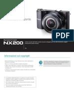 PHOTOCAMERA SAMSUNG NX200 Italian