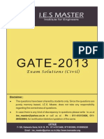 Gate 2013 Solution