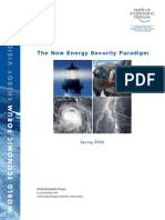 CERA (2006) the New Energy Security Paradigm