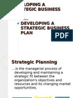 15591861 Developing a Strategic Business Plan