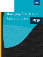 Managing Soft Tissue Ankle Injuries