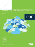 2013 Global Risk Management Survey Updated 05-01-2013