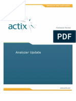 ANALYZER UPDATE