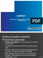 Strategia Firmei Genpact Romania