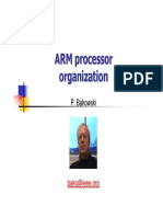 ARM Processor Organization - Presentation