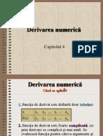 derivare numerica
