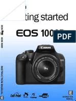 Canon Getting Started Guide