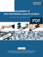 Management of Non-Performing Loans in Georgia_Eng