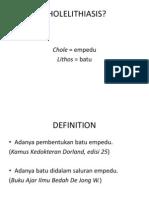 96802125 Ppt Refrat Cholelithiasis Naomi 08 076