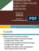 Presentasi PH Hewan Penelitian