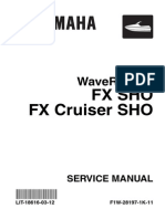Yamaha SHO Service Manual