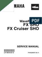 Yamaha SHO Service Manual