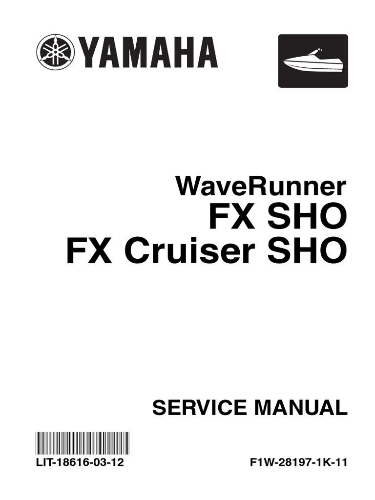 yamaha sho service manual internal combustion engine throttle rh scribd com Yamaha Outboard Service Manuals Yamaha Online Service Manual