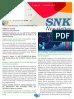 SNK Newsletter December 2013
