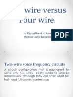 two-wire vs four wire
