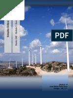 Estudio energía eólica (Wind energy project)
