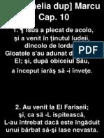 Marcu 10