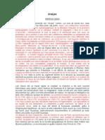 Analyse Rousseau