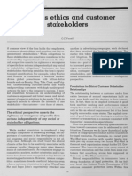 Customer Stakeholders