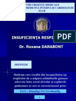 INSUFICIENTA RESPIRATORIE