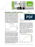 Merchanting – nya insikter om vår export