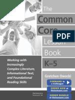 Common Core Lesson Book Sample2-1
