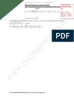 Solutii Variante Bac m1 Bac 2009
