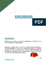Definicin de Explosivos. Explosivos Industriales (11-Febrero)