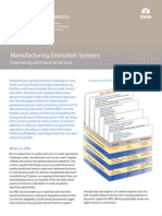 TCS MANUFACTURING EXECUTION SYSTEM