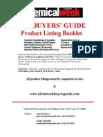 CWBG Product List 2008