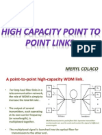 HIGH CAPACITY PIONT TO POINT LINKS