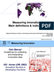 Measuring Innovation_main Definitions (Part I)